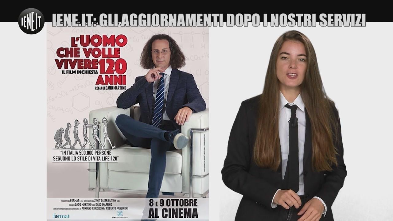 Aggiornamenti Iene It Life 120 Niente Ferma Adriano Panzironi