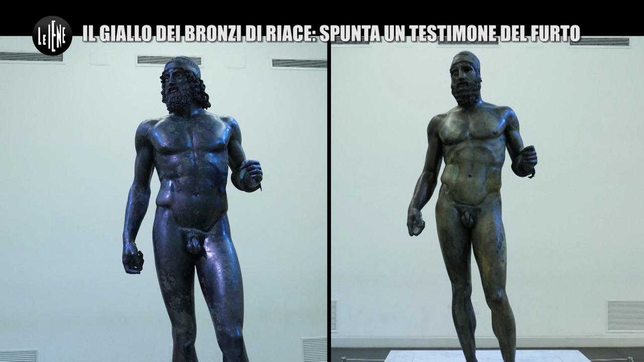 mistero bronzi riace