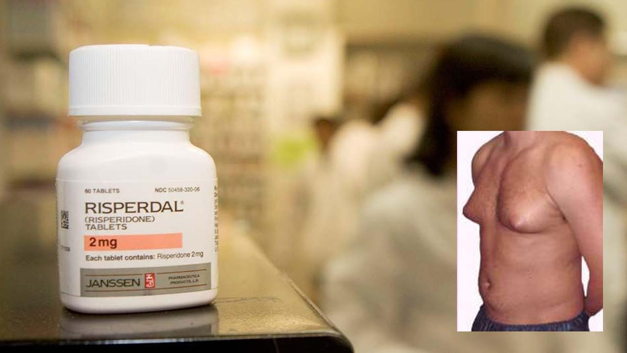 Uomo con il seno dopo farmaco: risarcimento stellare