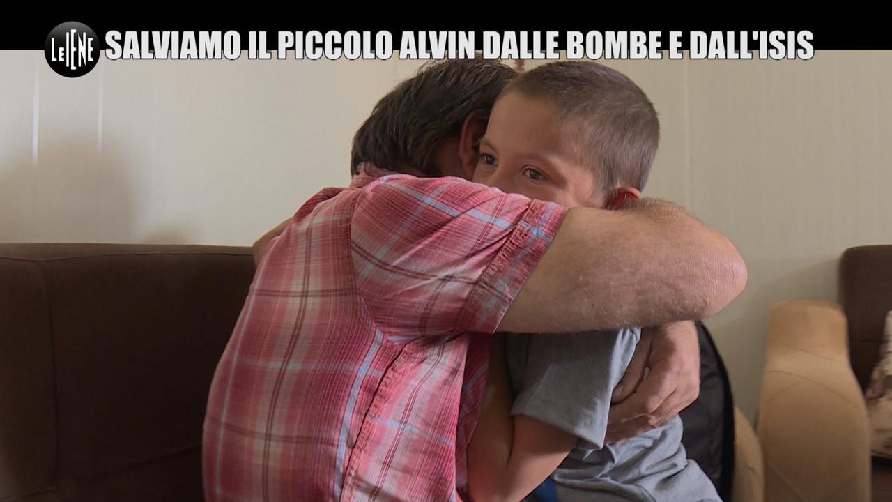 PELAZZA: Isis, il piccolo Alvin è vivo in Siria ma non può uscire dal campo di prigionia