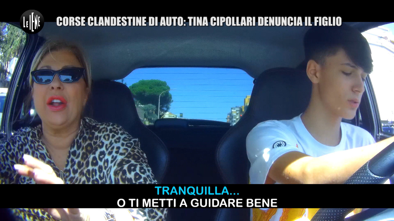 Tina Cipollari fa arrestare il figlio per le corse clandestine | VIDEO