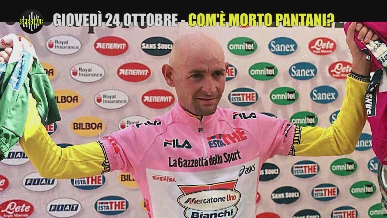 Com'è morto davvero Marco Pantani? Lo speciale Le Iene giovedì 24 ottobre su Italia1