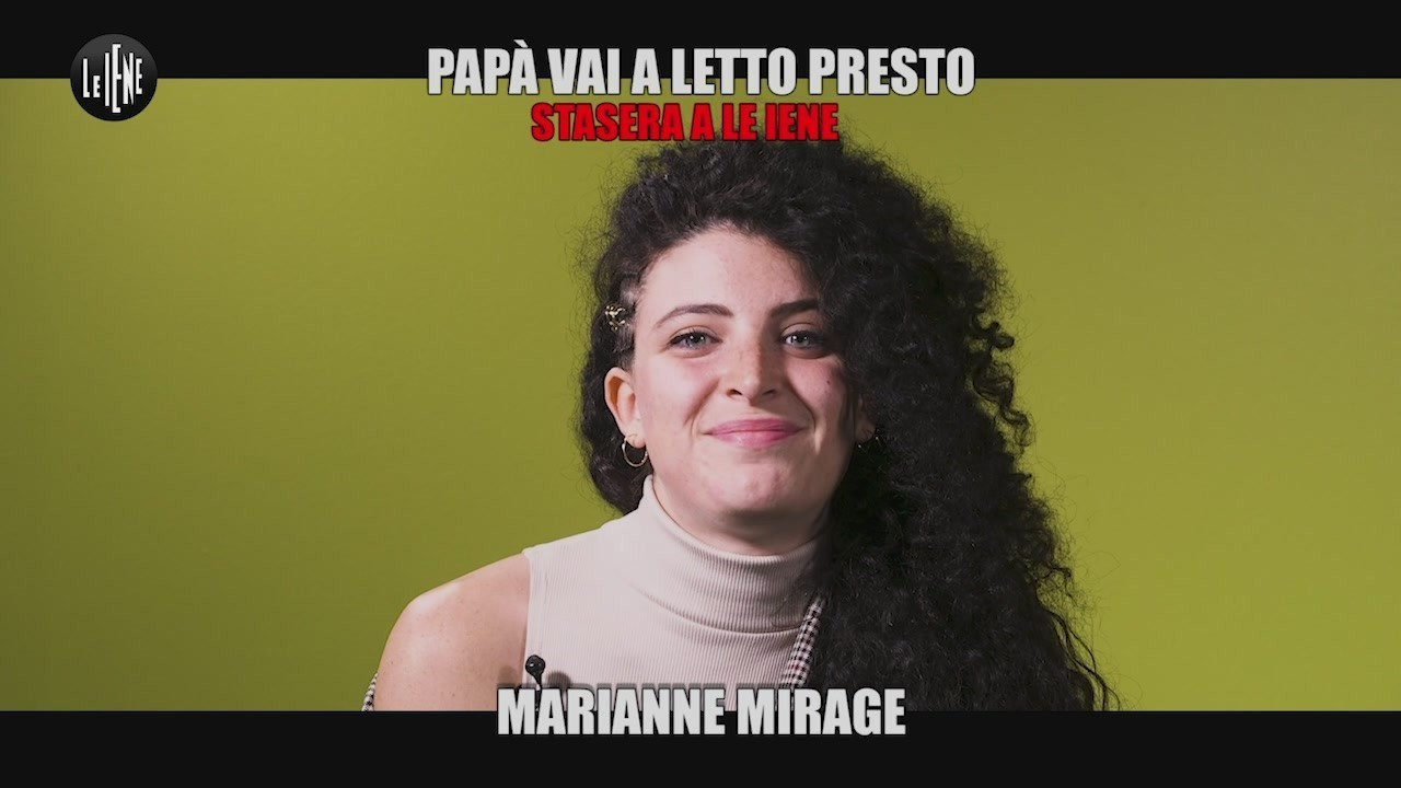 intervista marianne mirage