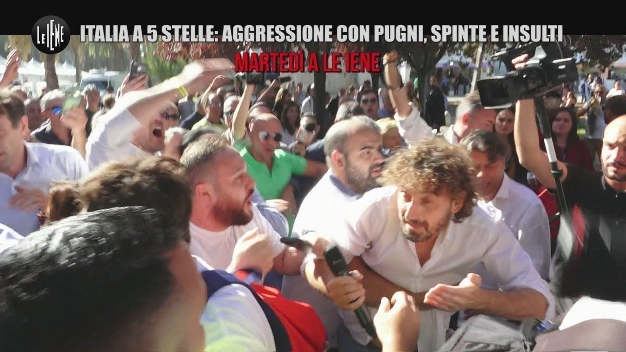 Aggressione filippo roma sostenitori m5s raggi