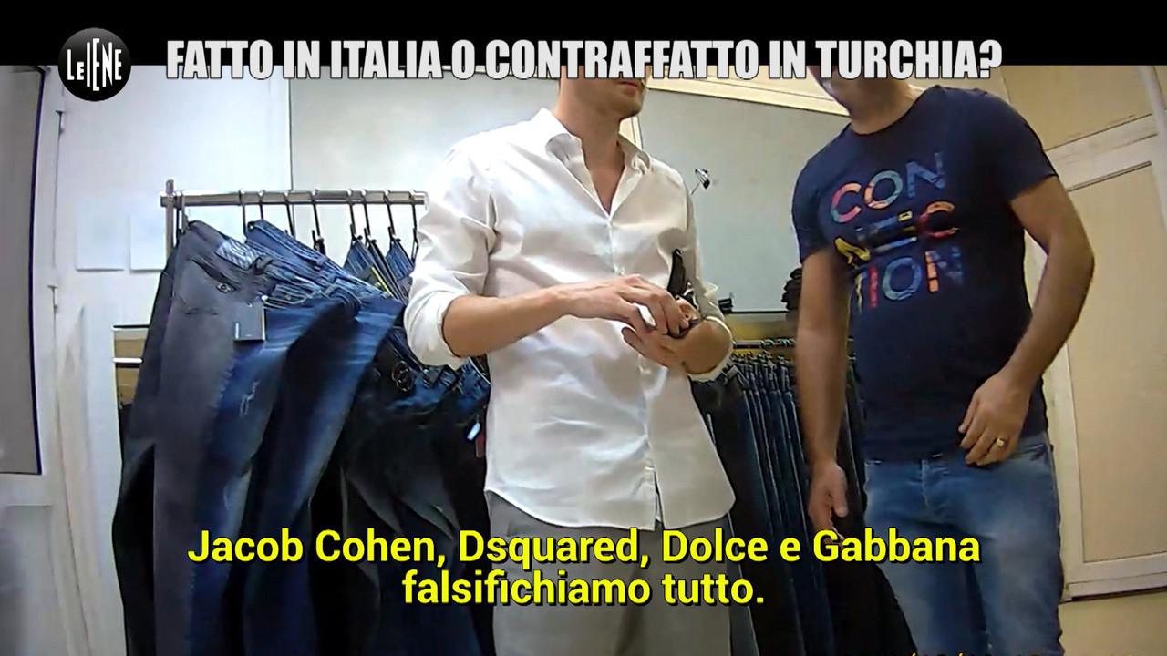 Contraffazione business italia milioni
