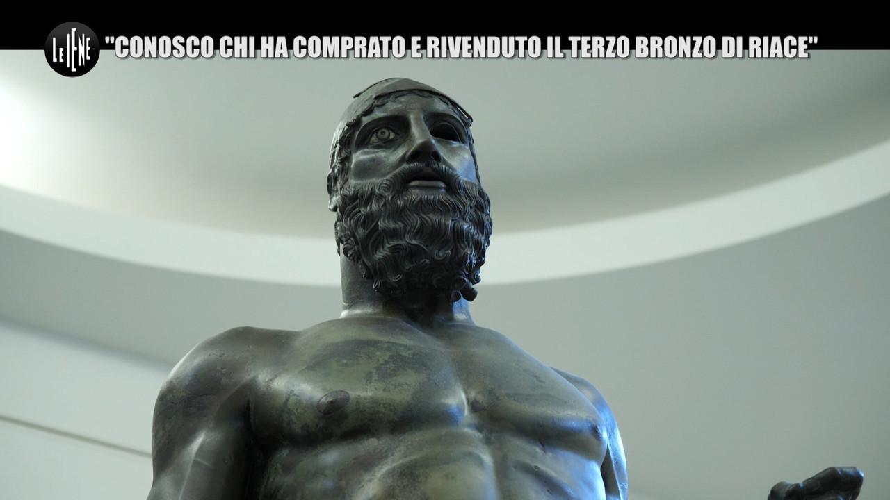 terzo bronzo riace museo Usa
