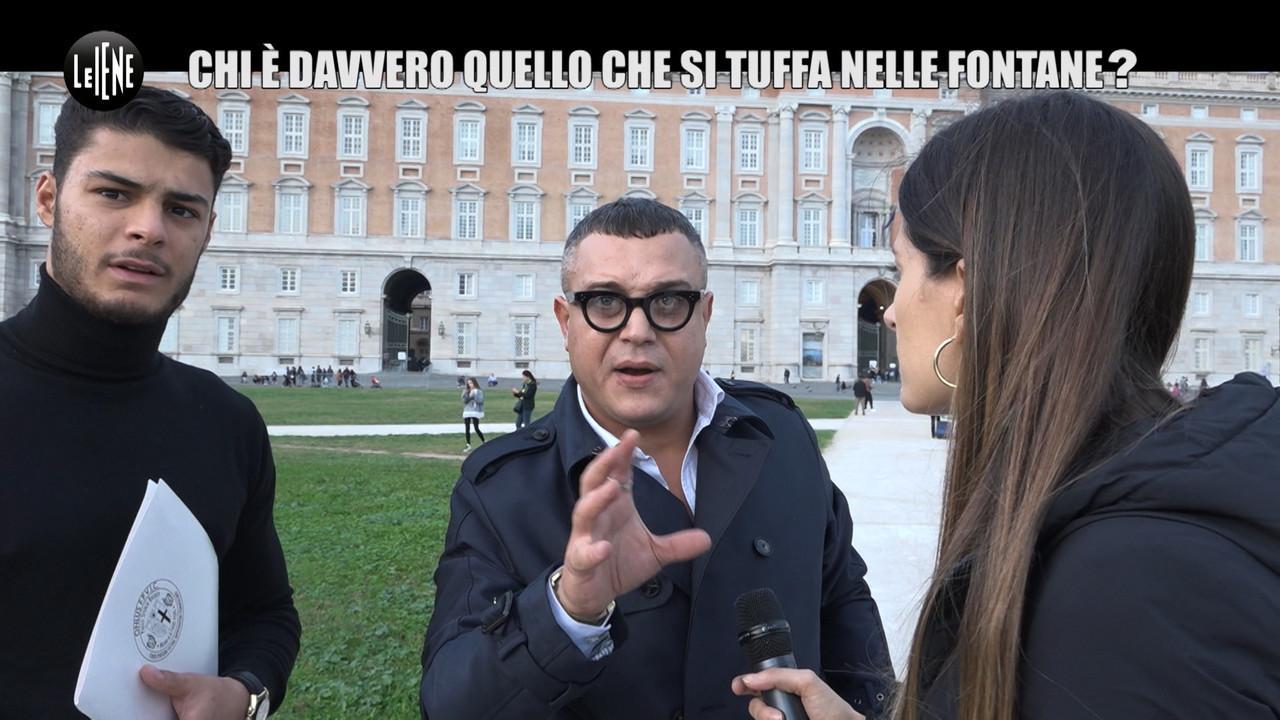 Tuffa Fontana Reggia Caserta medaglia