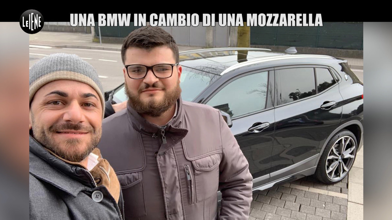 Truffa bmw auto mozzarella