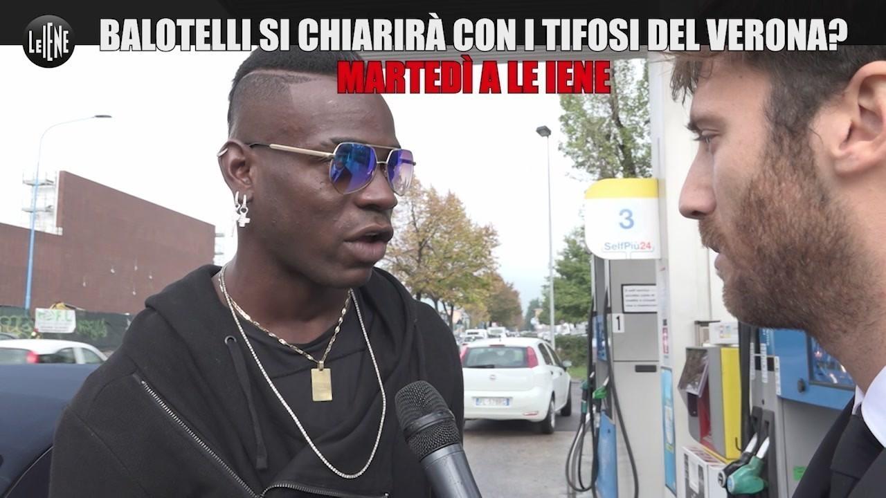 Iene anticipazione Balotelli