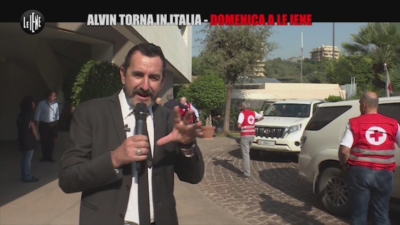 alvin arrivo ambasciata italiana