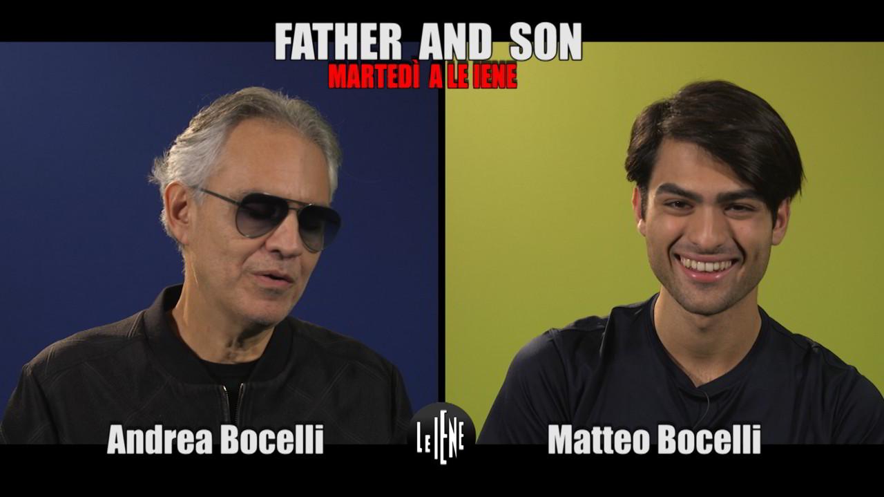 Bocelli vs. Bocelli: ecco quello che non sopportano padre e figlio | VIDEO