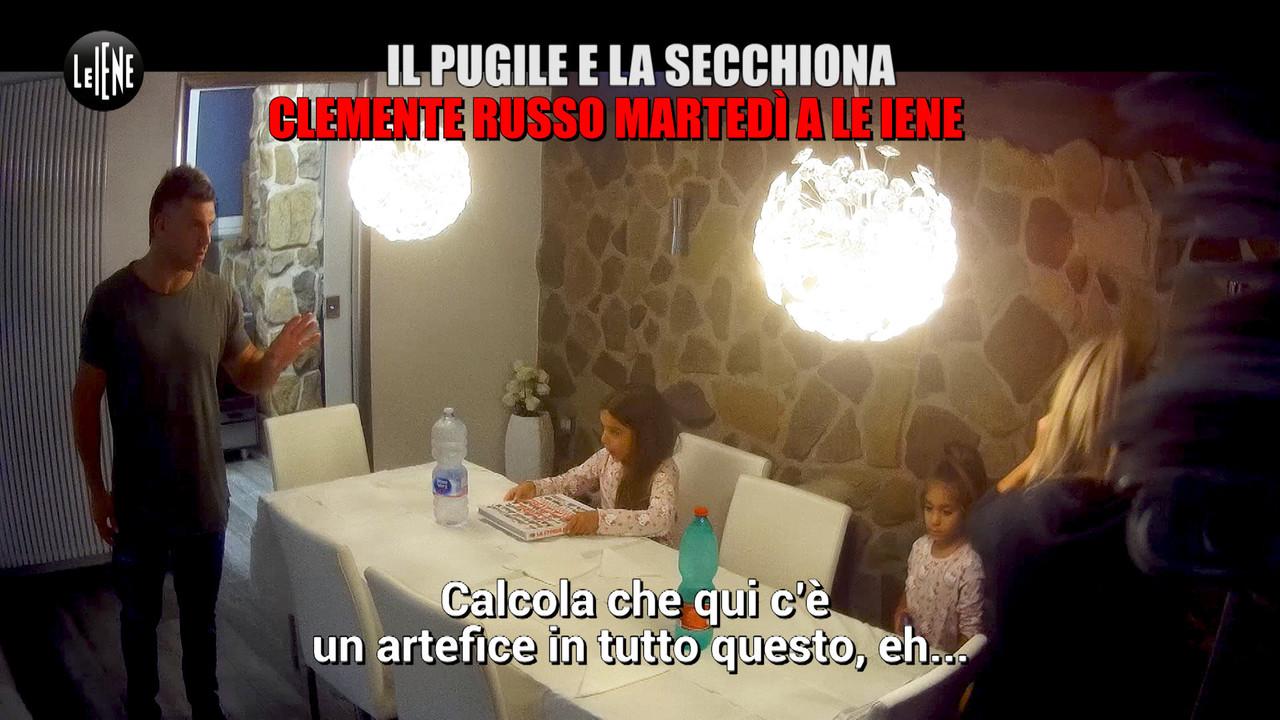 Clemente Russo: il pugile e la bambina secchiona | VIDEO