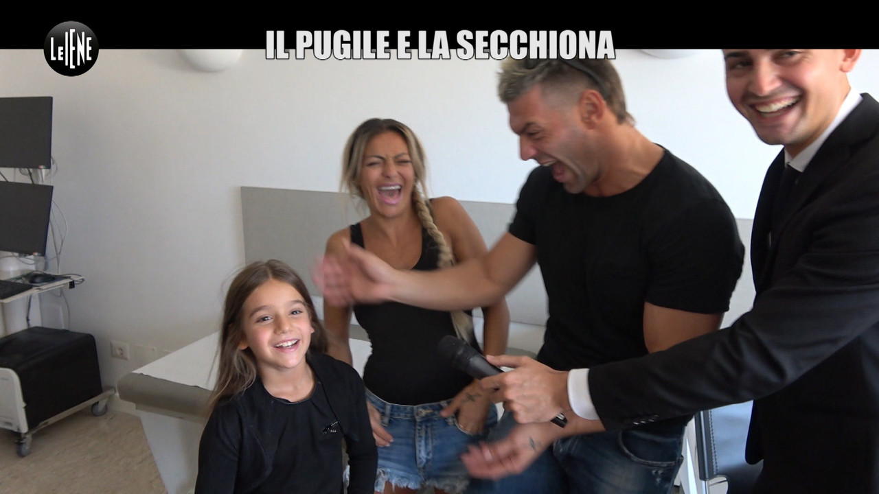 Clemente Russo, lo scherzo con la figlia geniale | VIDEO