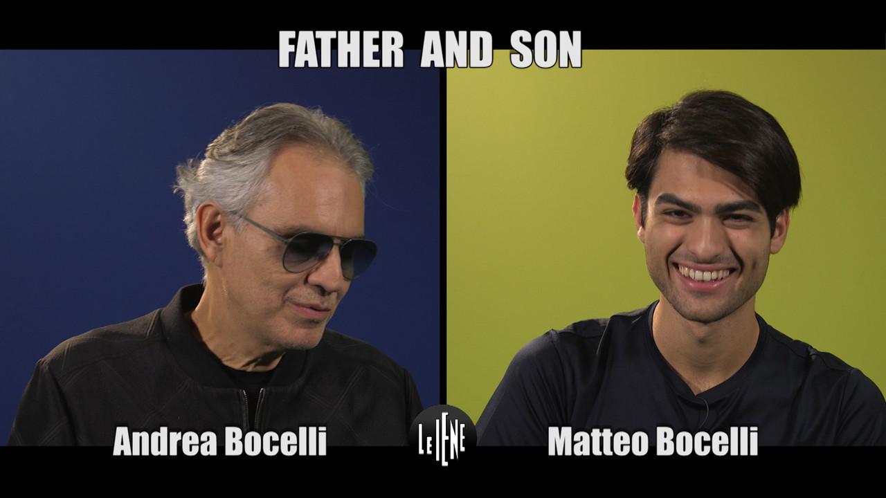 Andrea e Matteo Bocelli: duetto e frecciatine | VIDEO