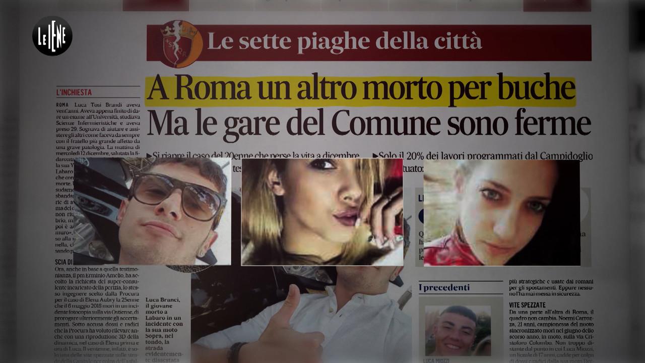 Buche di Roma, un altro morto a 20 anni. La Raggi cosa fa? | VIDEO