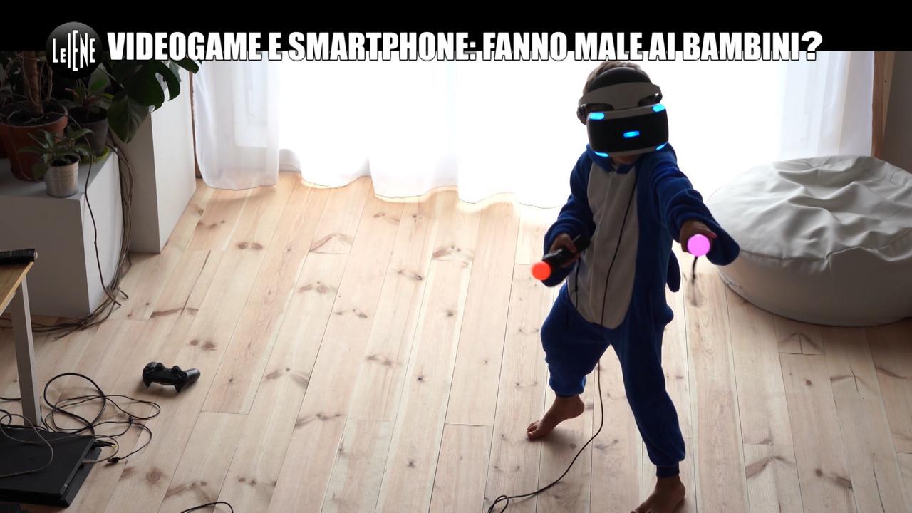 Bambini, videogiochi e smartphone fanno male? | VIDEO