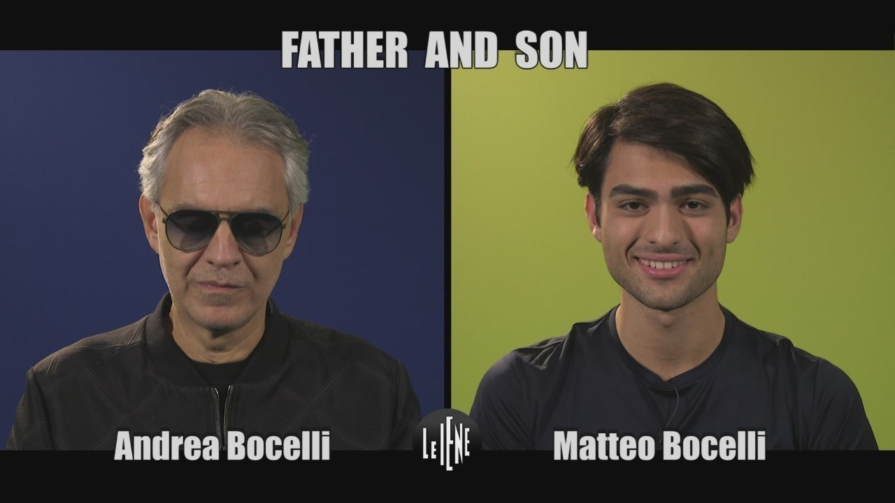 INTERVISTA: Father and Son, l'intervista doppia ad Andrea e Matteo Bocelli