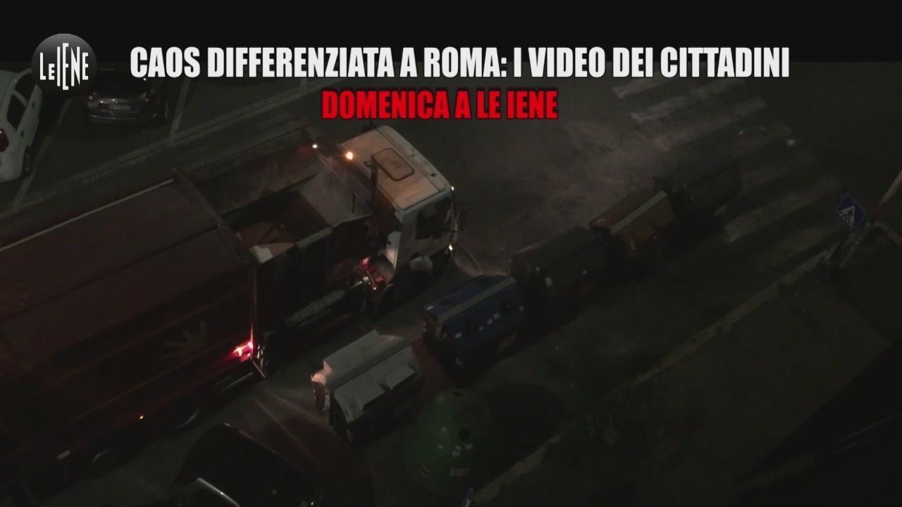 monnezza roma raccolta rifiuti