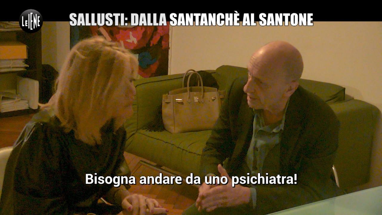scherzo alessandro sallusti santone