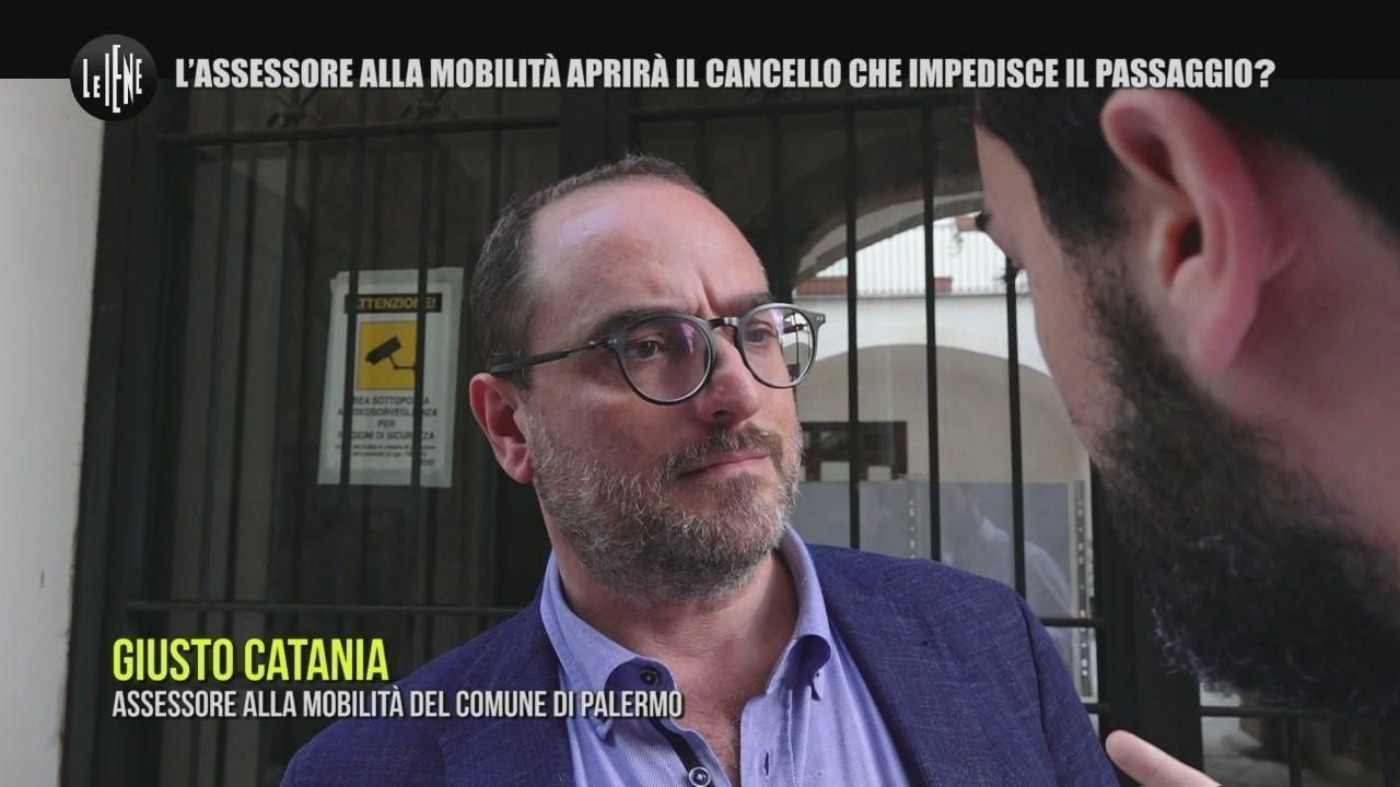 Palermo cancello assessore giusto catania