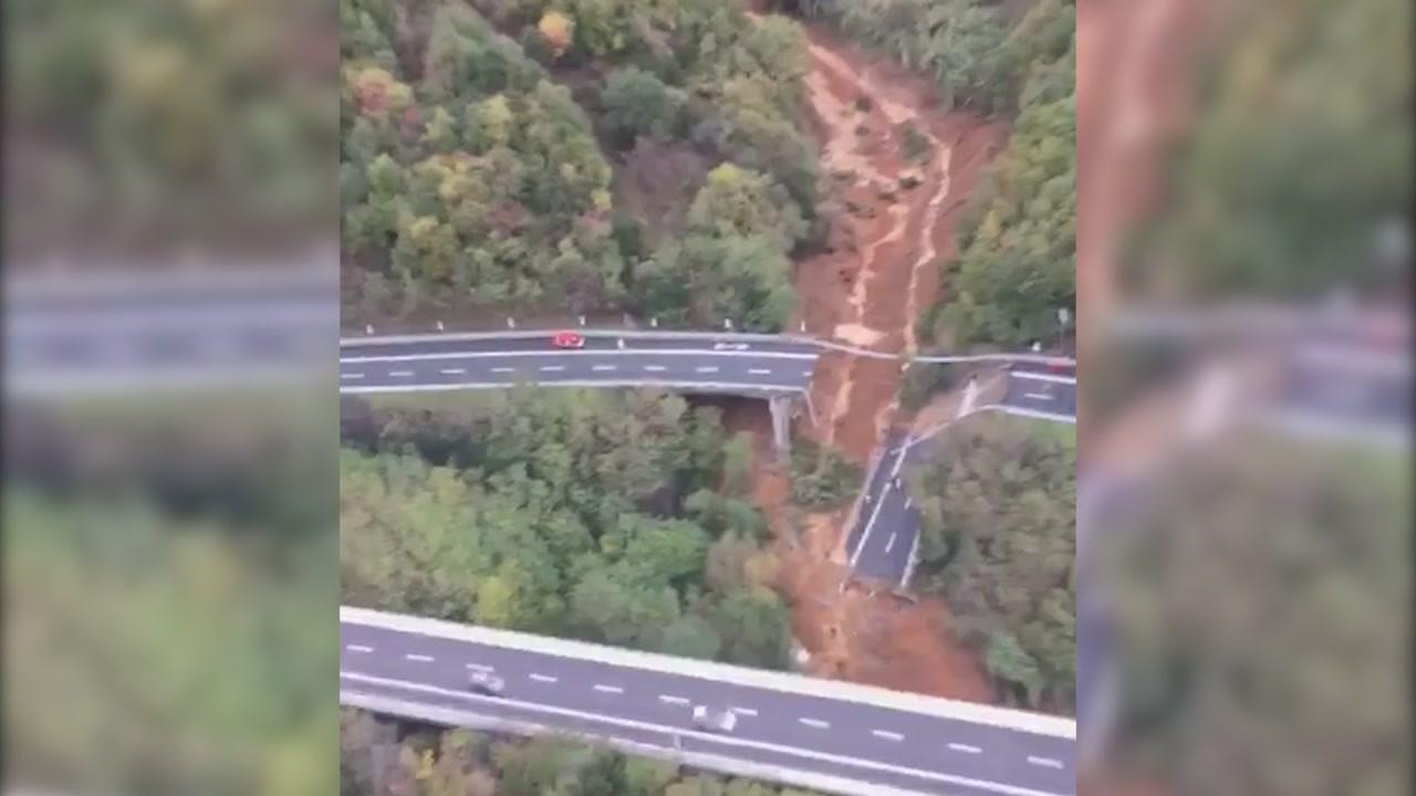 crollo autostrade viadotto a6