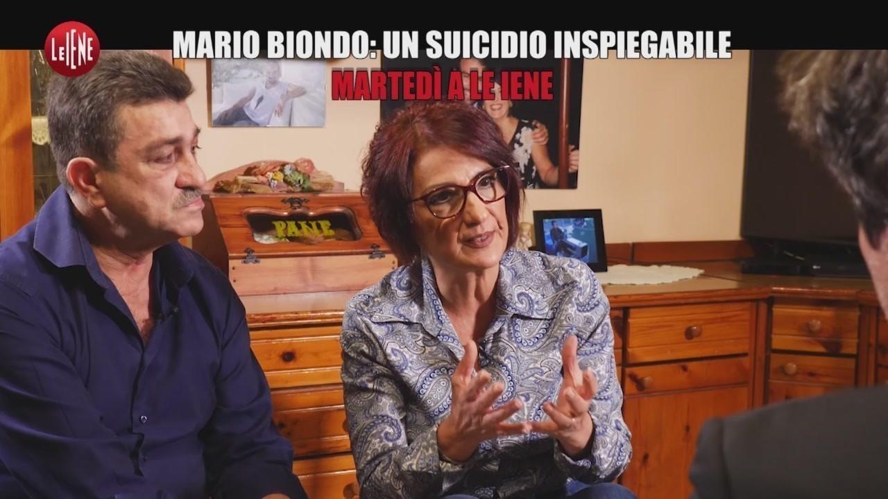 mario biondo suicidio omicidio indagini