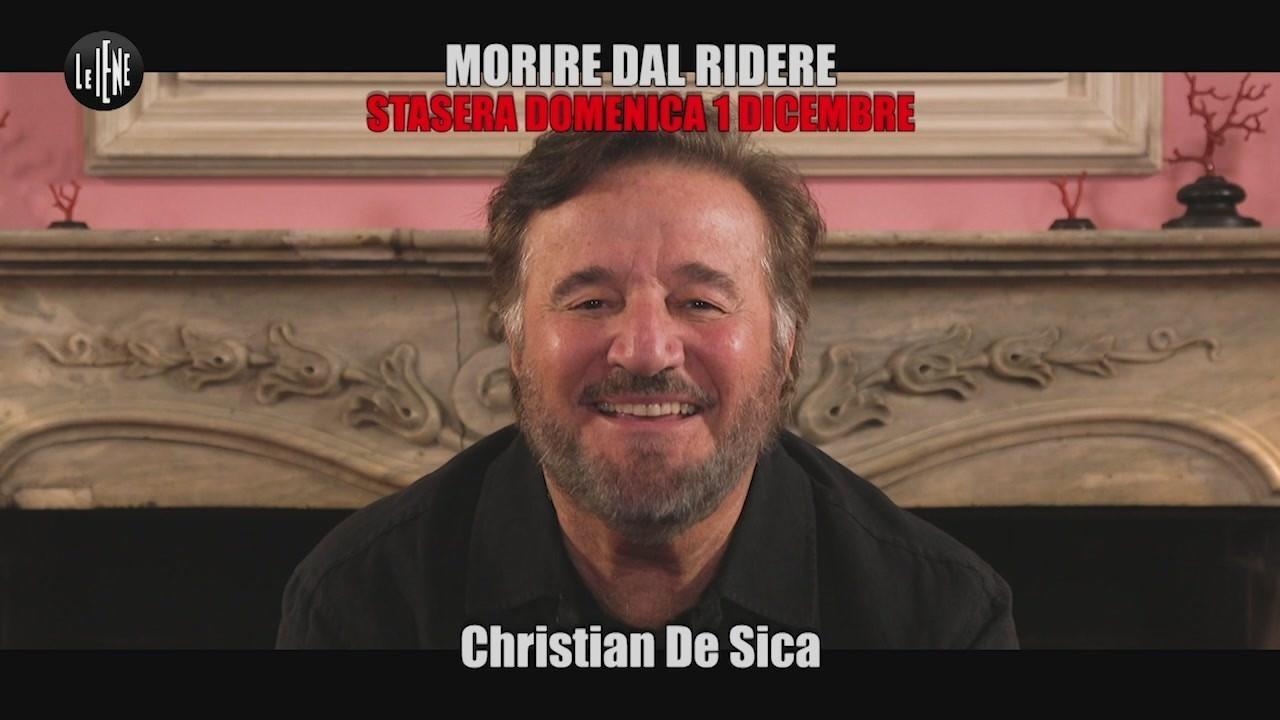 intervista Christian De Sica tormentoni