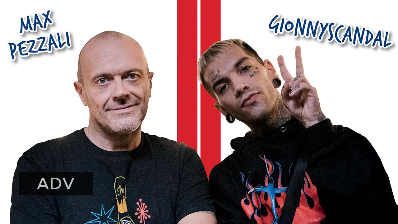Intervista doppia a Max Pezzali e GionnyScandal