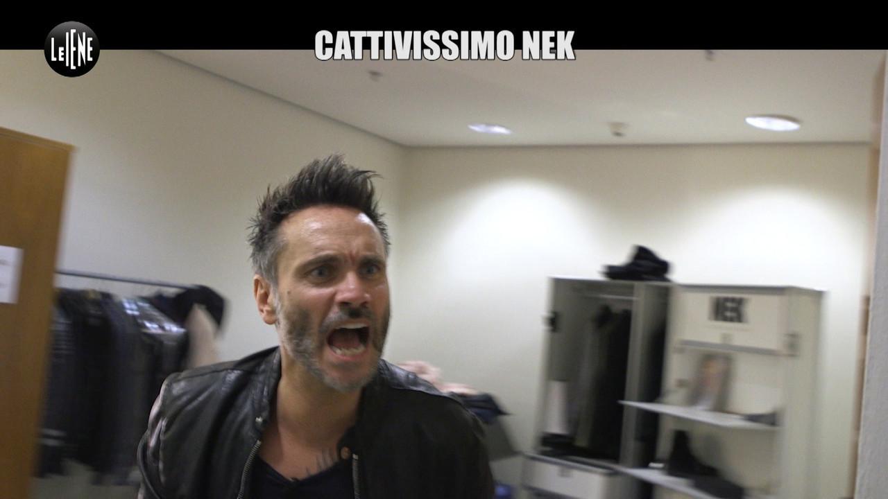 CIZCO: Lo scherzo: cattivissimo Nek. E quando la telecamera si spegne...