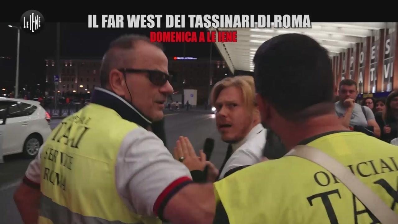 tassisti roma violenti