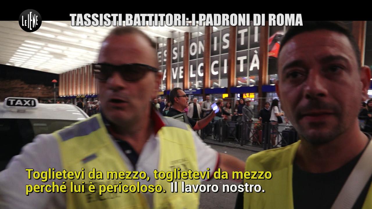tassisti roma furbetti violenti