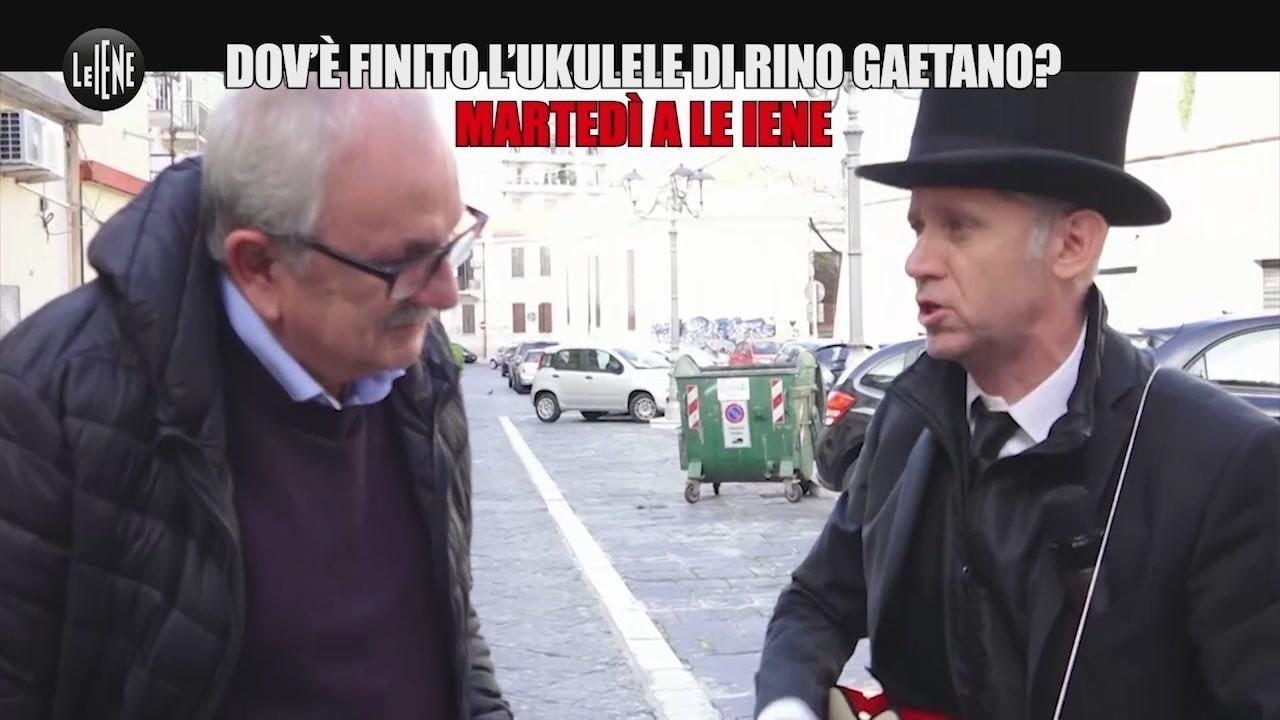 Rino Gaetano ukulele