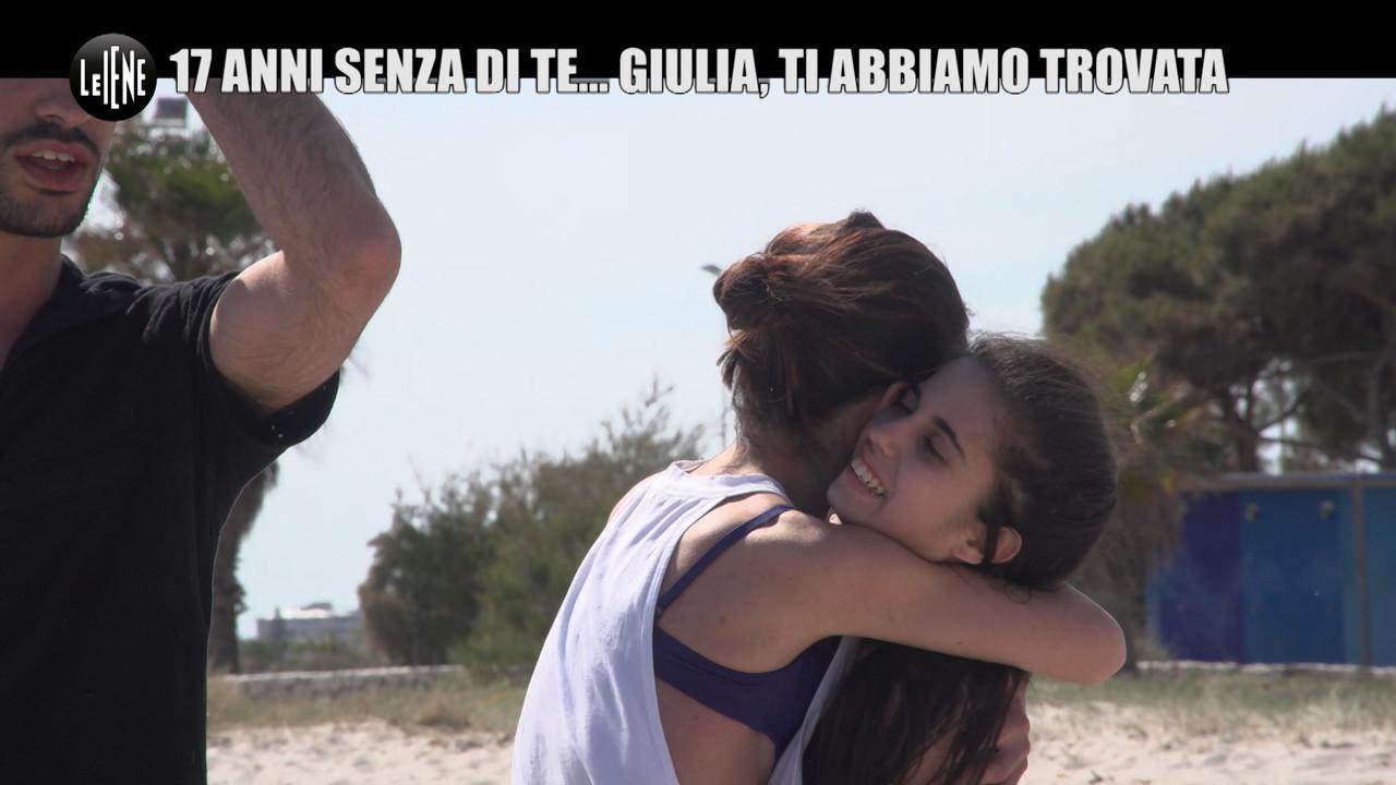 NINA: Abbiamo ritrovato Giulia, la sorella adottata 17 anni fa