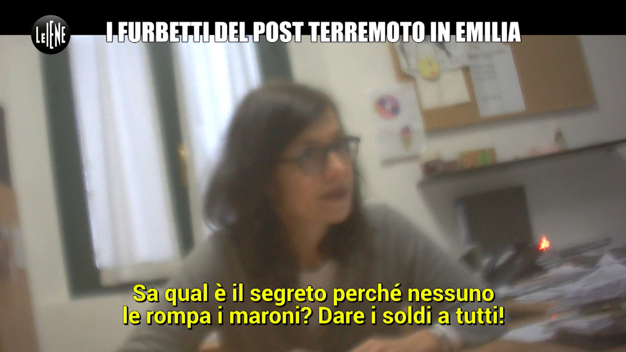 Terremoto in Emilia: i furbetti dei finanziamenti per la ricostruzione | VIDEO