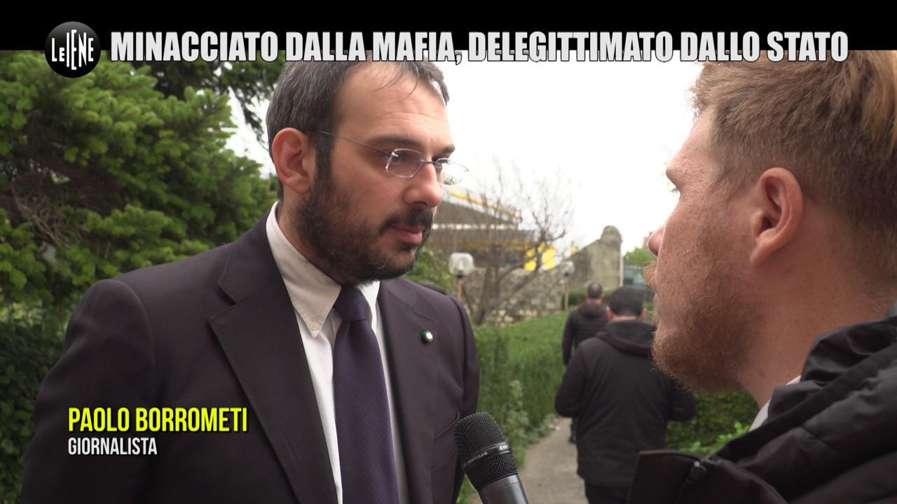 """LA VARDERA: Paolo Borrometi: """"Io, minacciato dalla mafia e dai politici"""""""