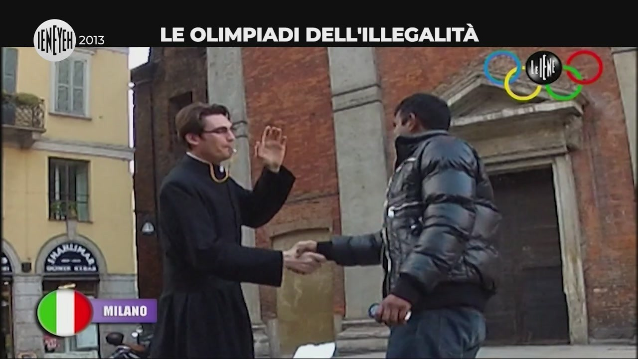 olimpiadi illegalita ruba prete