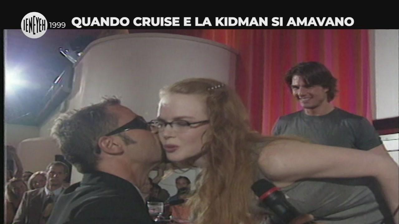 cruise kidman bacio