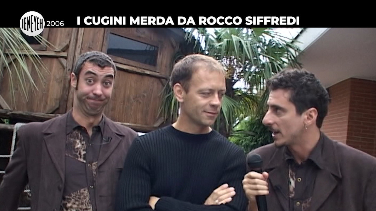 cugini merda Rocco Siffredi