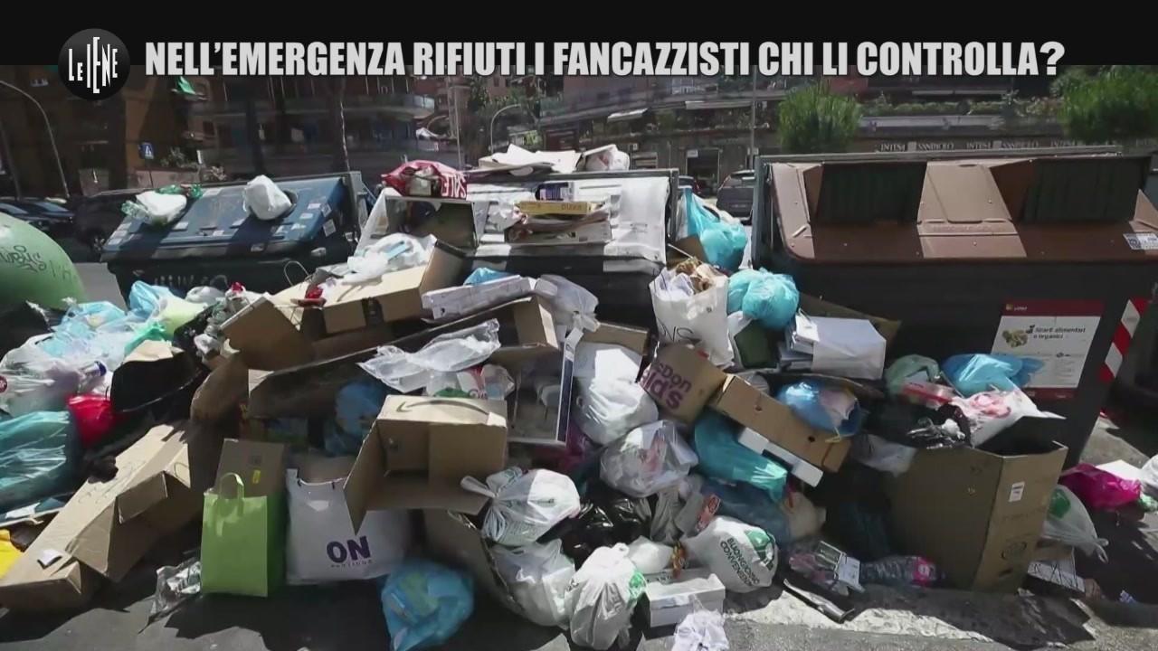 ama spazzatura roma fancazzisti emergenza