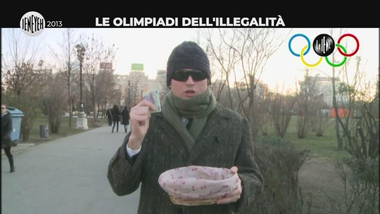 olimpiadi illegalita ruba cieco