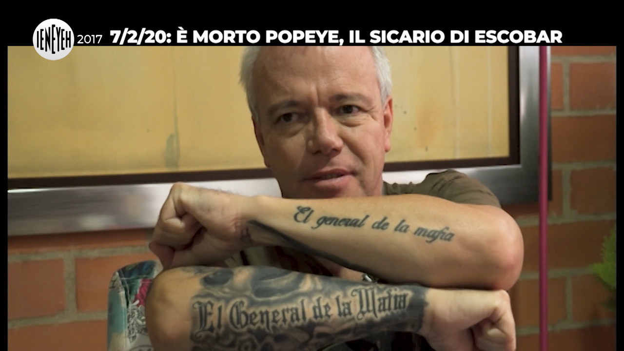 Popeye sicario escobar morte