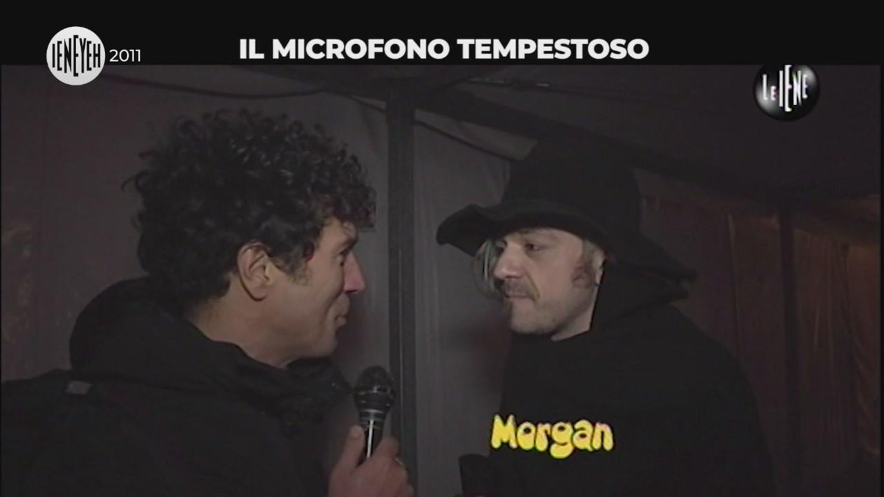 microfono sgarbi morgan ventura