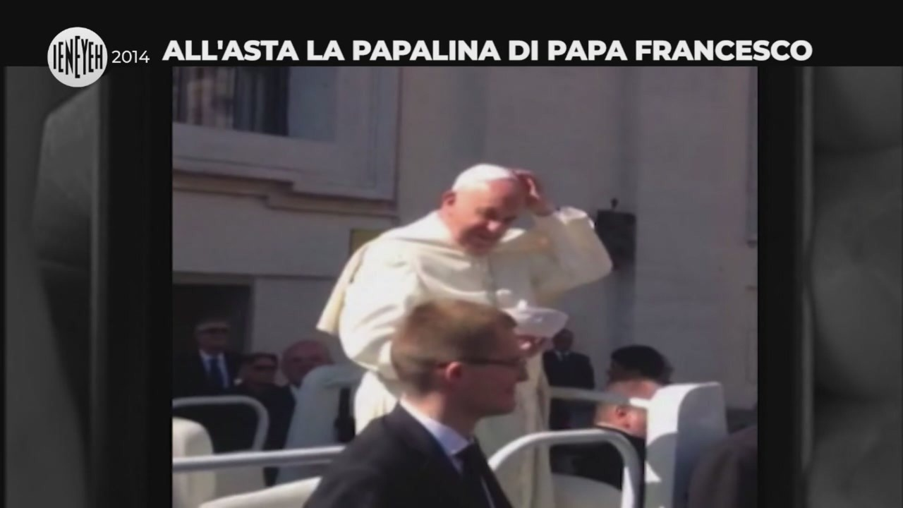 papalina papa francesco asta
