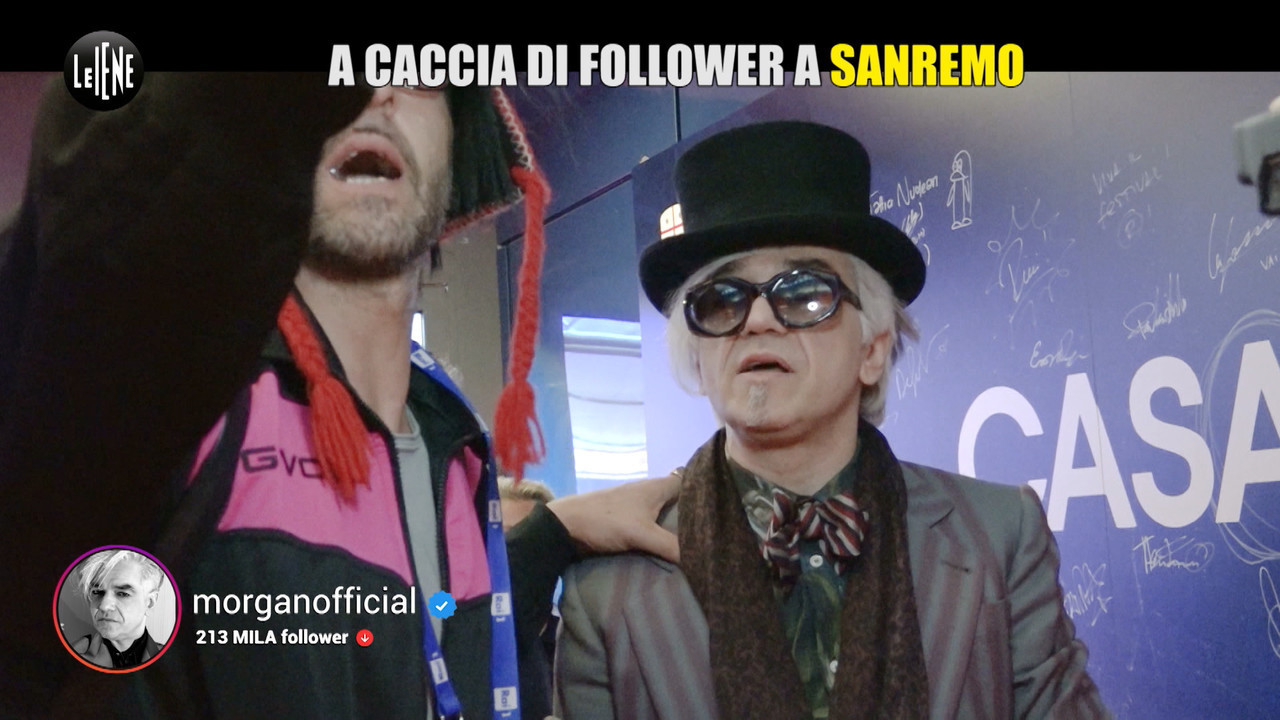 sanremo festival selfie followers