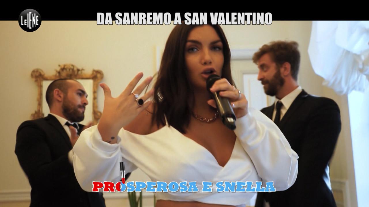 CORTI E ONNIS: La canzone de Le Iene a Sanremo: le donne devono stare un passo indietro?