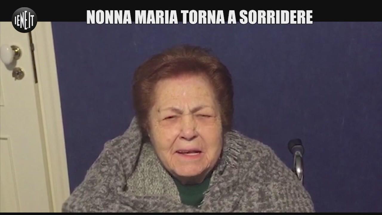 nonna Maria sorridere sequestro