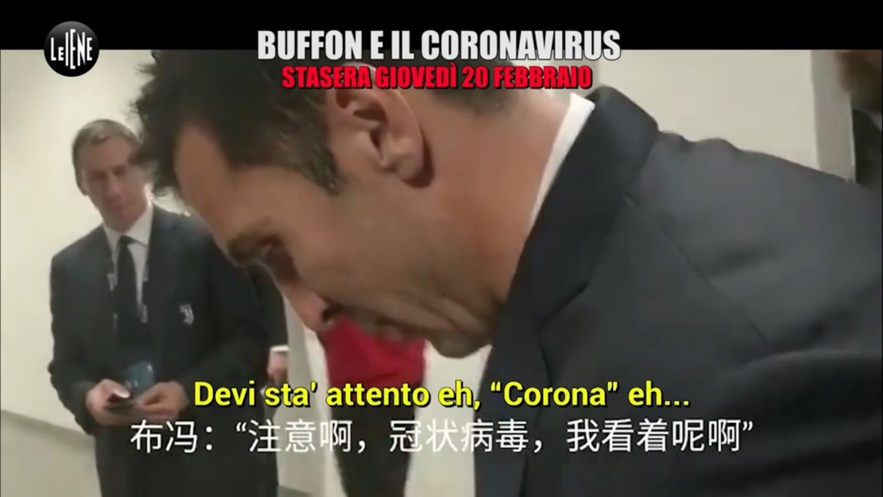 Gigi Buffon e quelle gaffe sul coronavirus | VIDEO