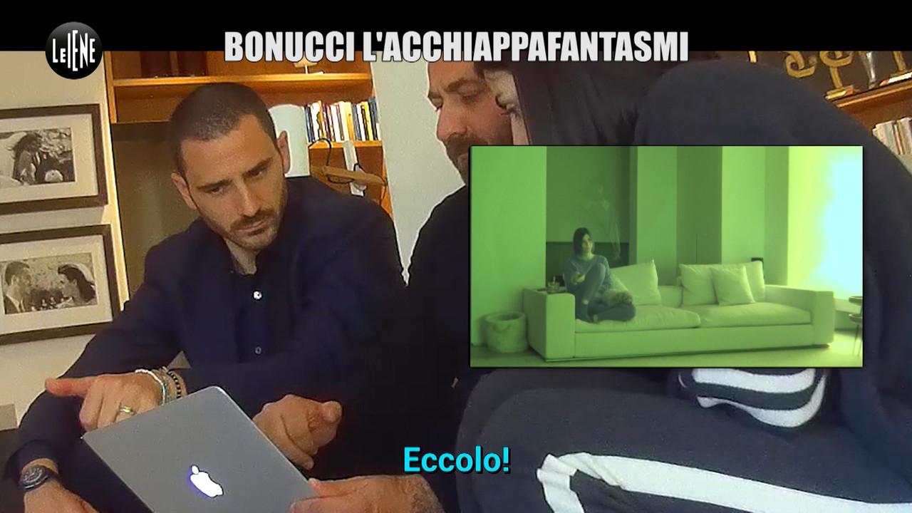 GAZZARRINI: Lo scherzo: Leonardo Bonucci tra fantasmi e ghostbuster in casa