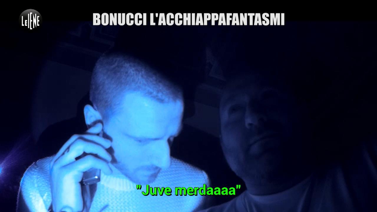 Lo scherzo a Bonucci, difensore anti fantasmi!  | VIDEO