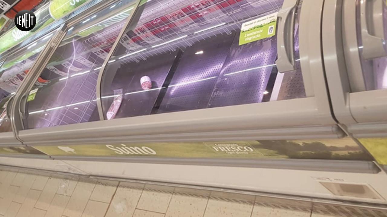 Coronavirus, i supermercati presi d'assalto nel Lodigiano